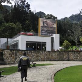 Tom Chambers in Bogota, Columbia