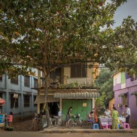 Eric Wiliam West: Cityscape|Burma