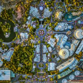 Jeffrey Milstein: LA NY: Aerial Photographs of Los Angeles And New York