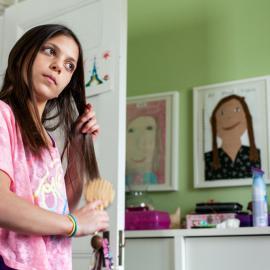 Fotofest Week: Tira Khan: Growing Up Girl