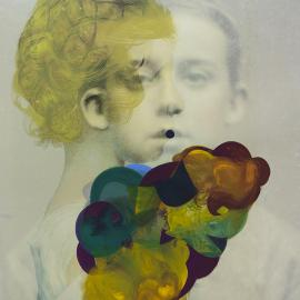 Cathy Cone: Hand Painted Photographs