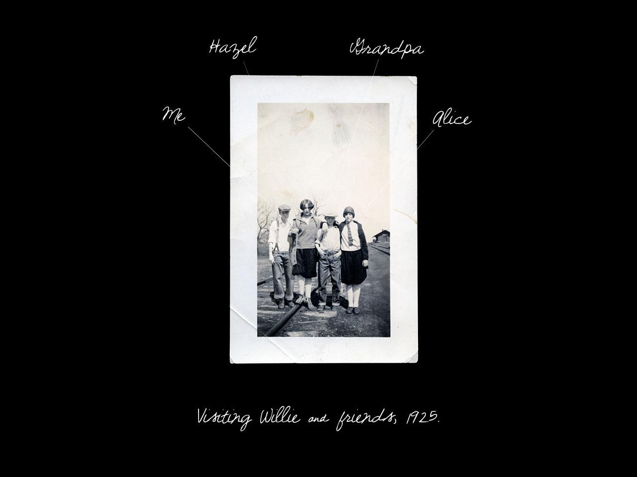 rebuilding the family album