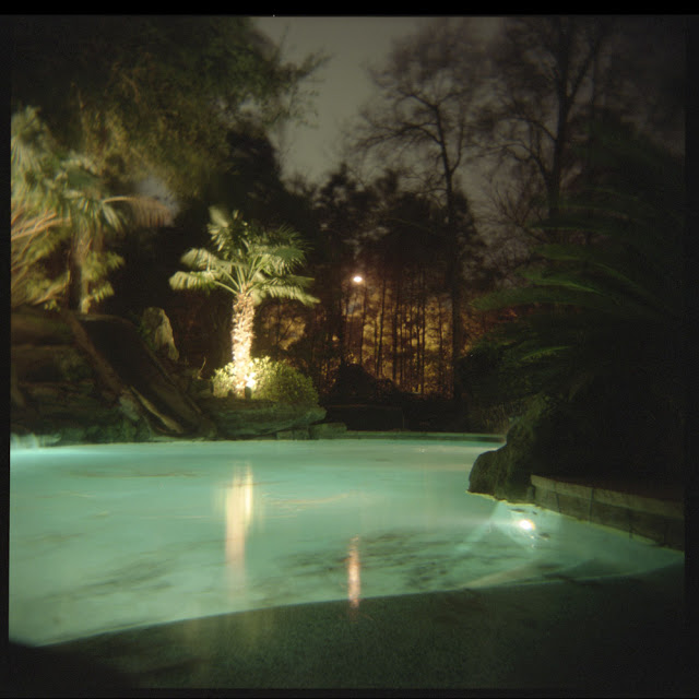 Backyard Pool At Night : 2013 LENSCRATCH Backyard Exhibition by Aline Smithson May 31, 2013