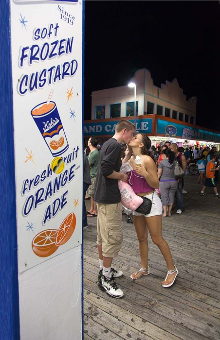 AmyBecker_BoardwalkKiss_SeasideHeights__Summer2012