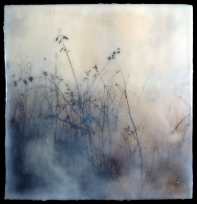 Burn No. 44 encaustic