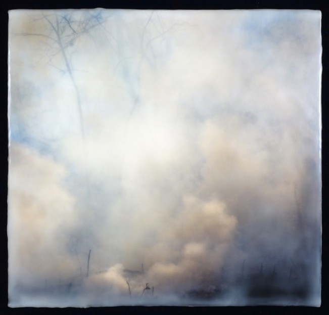 Burn No. 95 encaustic