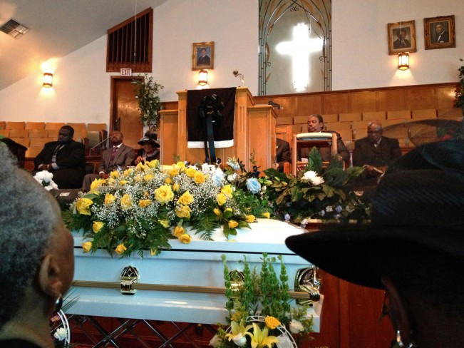 Funeral of VerLee Suggs