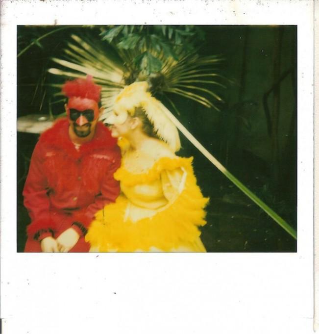 Cardinal & Canary, Mardi Gras 2005 (c) Jessica Orzlowski