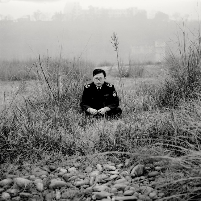 The policeman in the grass, 2006