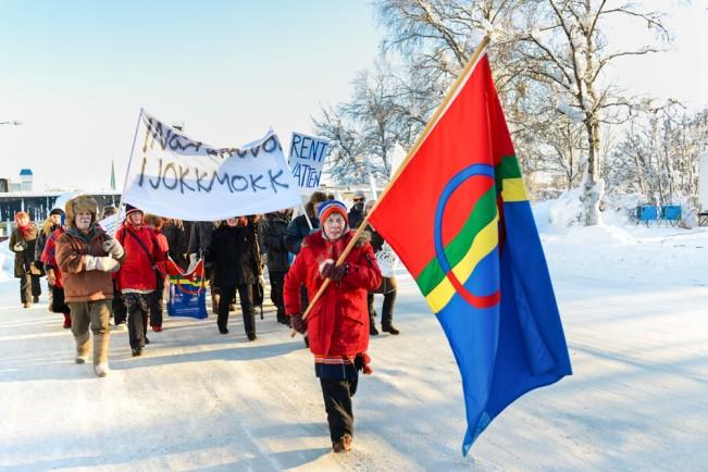 Inga gruvor i Jokkmokk Jokkmokk Sâpmi Vintermarknad in Sweden