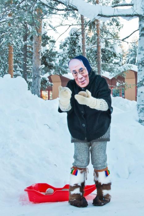 Jokkmokk Sâpmi Vintermarknad in Sweden