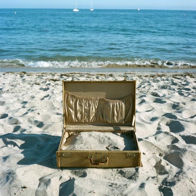 Sand Suitecase