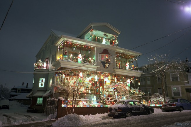 Somerville Christmas House