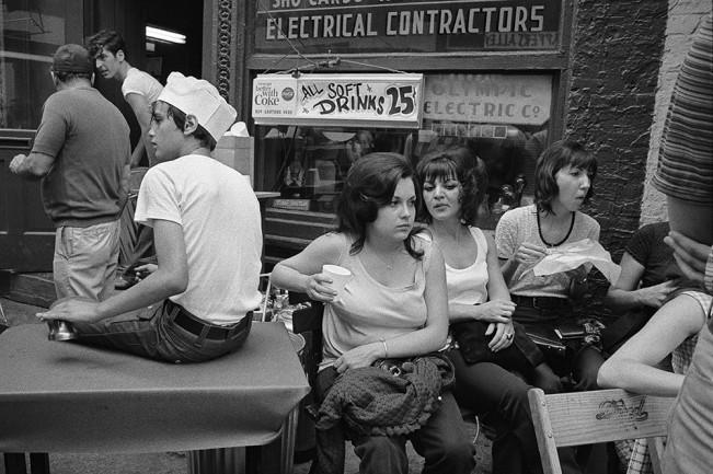Girls at Greektown Festival, Detroit 1972