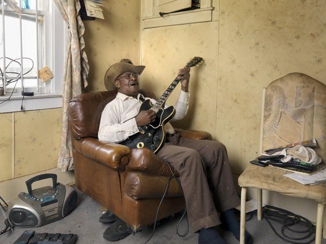 Glemie Playing the Blues, Westside, Detroit 2011