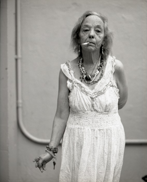Judy white dress
