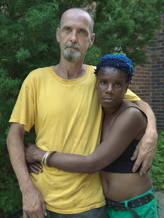 Margaret and Damien, Goldengate St., Detroit 2013