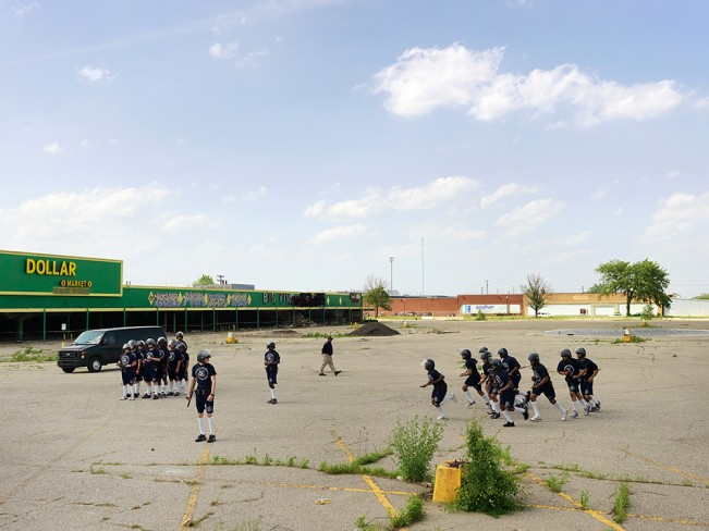 Police Cadet Riot Training, Eastside,  Detroit 2012