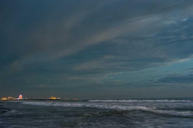 Santa Monica Pier Night II by EJ Camp 2012