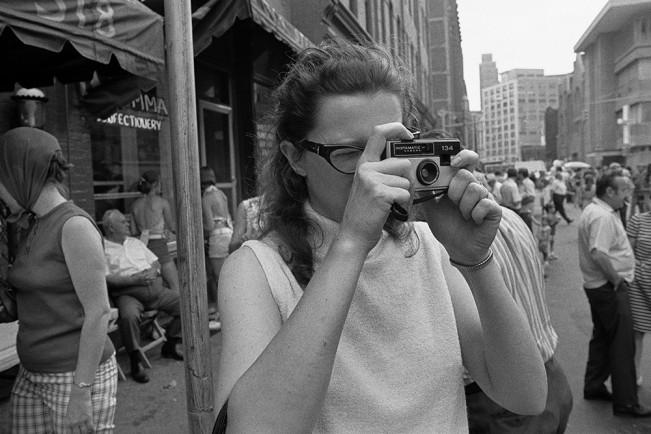 Snapshooter, Greektown, Detroit 1972 1-33-1