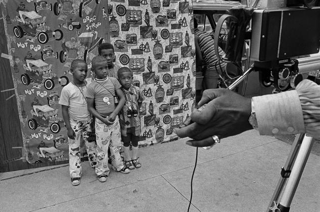 Street Portrait, Detroit 1972 1-34-1