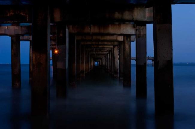 Under Santa Monica Pier by EJ Camp 2012