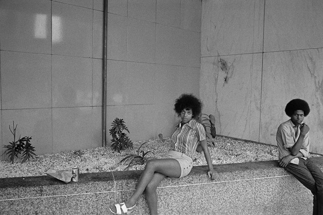 Woman Posing for Me, Detroit 1972 1-47-2