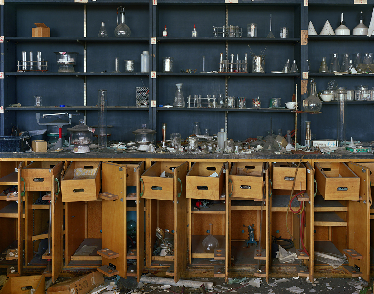 Chemistry Lab, former Cass Technical High School building