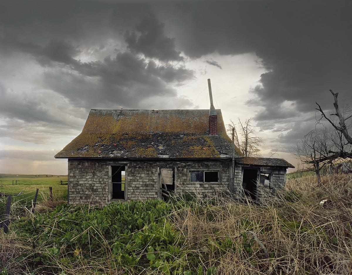 """Porcupine House"", Cherry County, Nebraska, 2012"