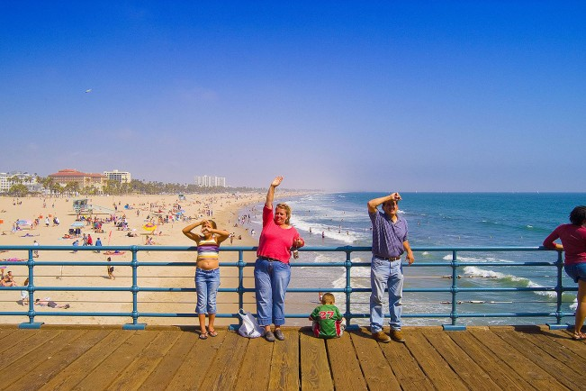 SANTA MONICA PIER-CA-TRAVEL PLACES