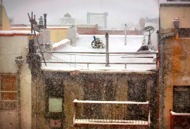 LivingROom Window-5th St NYC