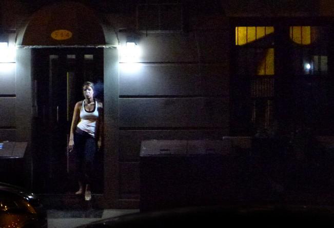 smoking girl Sept 2 2012