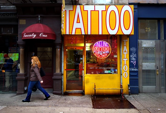 tattoo 1st Ave