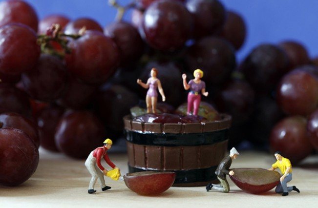 1_Self Portrait_When Men Hand you Grapes, Women Make Wine_Laurie McCormick