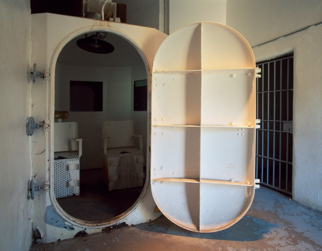 Saloutos_Lee_01-Gas Chamber With Two Chairs, Missouri State Penitentiary, #3