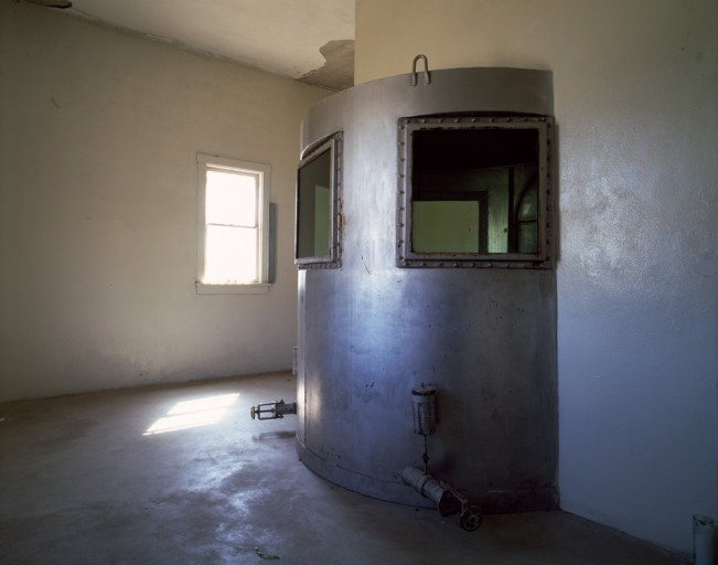 Saloutos_Lee_02-Gas Chamber, Wyoming Frontier Prison, #2