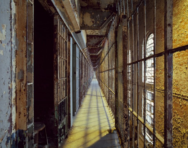 Saloutos_Lee_08-Cell Block, Mansfield State Reformatory, Mansfield, OH, #30