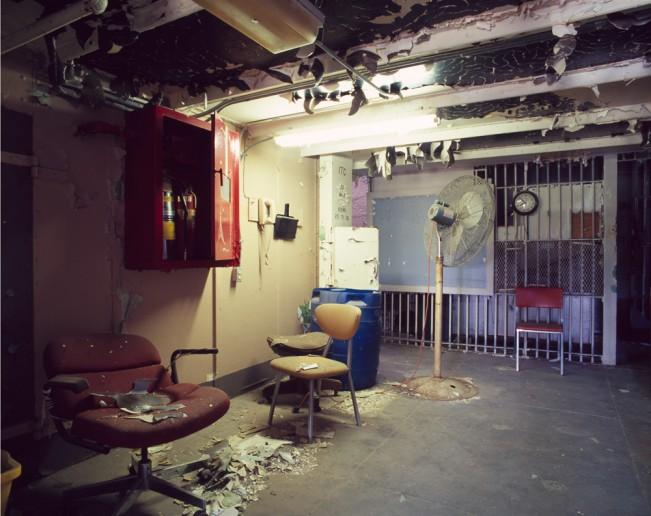 Saloutos_Lee_10-Block End, Housing Unit 1, Missouri State Penitentiary, #1