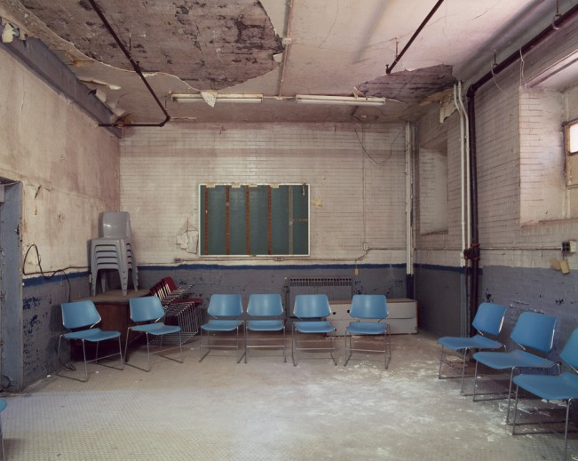 Saloutos_Lee_11-Meeting Room, Housing Unit 3, Missouri State Penitentiary, #1