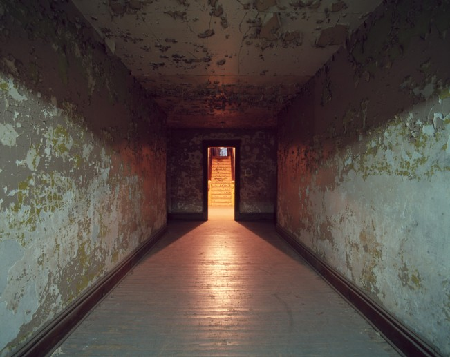 Saloutos_Lee_15-Hallway, Mansfield State Reformatory, Mansfield, OH, #3