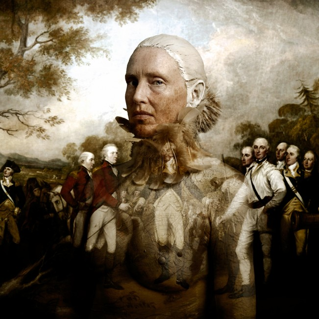 Wallportrait Kathryn Burgoyne's Surrender