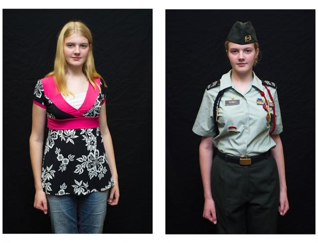 Jasmine Tenney (14), Cadet Sergeant First Class Jasmine Tenney