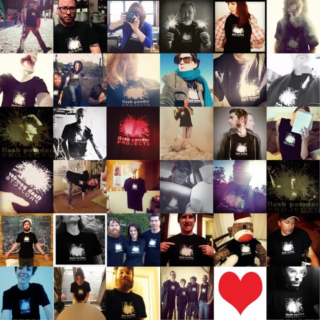 tshirt collage