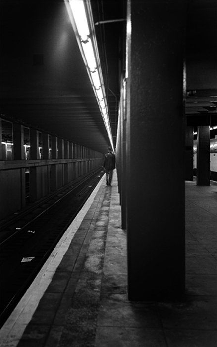 27_Langer_Subway Station, 1996
