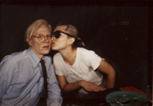 Andy Warhol and Debbie Harry_1