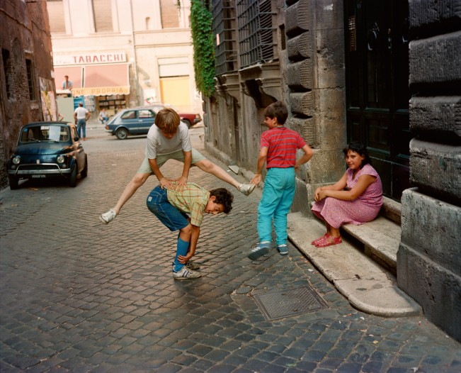 PG 16 kids jumping Rome 82
