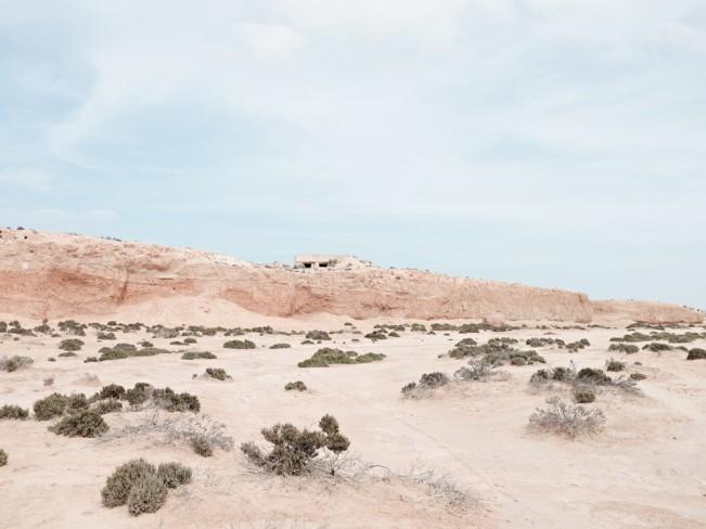 Arnold_Matthew_012_Pillbox overlooking Wadi Zig Zaou