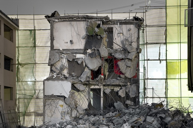 Demolition Site 03 Outside_Pigment print_115x155cm_2013