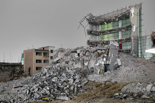Demolition Site 09 Outside_Pigment print_115x155cm_2013