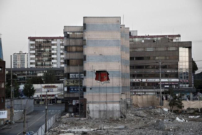 Demolition Site 11 Outside_Pigment print_115x155cm__2013